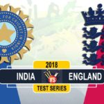 India vs England Test Series