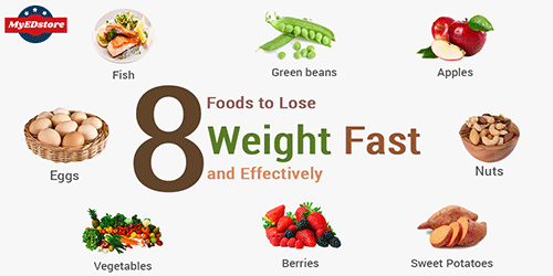 8 Foods To Lose Weight Fast And Effectively Creative Blogger World