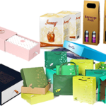 Printing Riveting Retail Hanging Product Boxes for Hair Accessories