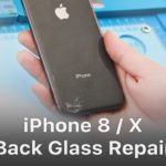 The procedure of iPhone Back Glass Replacement