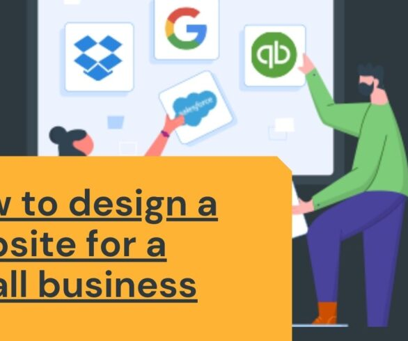 design a website for a small business